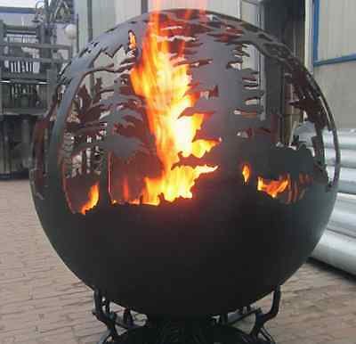 Fire Pit/Sphere 91cm or Garden Ornament