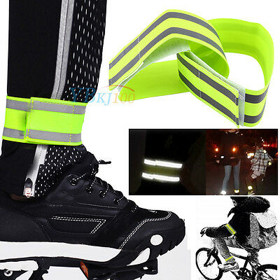 Safety Reflective Arm Band Belt Strap For Outdoor Sports Night Running Cycling