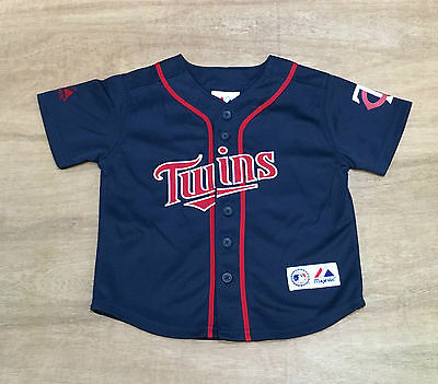 Minnesota Twins - Kids 4 Years Old - Joe Mauer - MLB Baseball Jersey