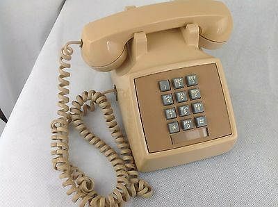 Bell Systems - Vintage - Corded Telephone - Phone - Push Button - 2500DMG