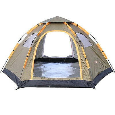 Wnnideo Instant Family Tent 6 Person Large Automatic Pop Up Tents Waterproof for
