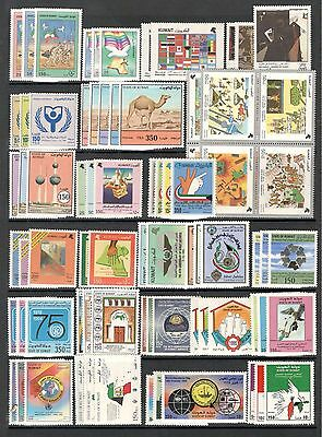 Kuwait, 1991/ 2000 collection of 46 full sets stamps (MNH)