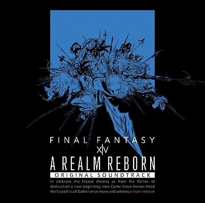 A REALM REBORN:FINAL FANTASY XIV Original Soundtrack Blu-ray Disc Free Shipping