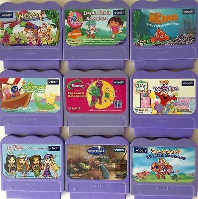*CHOOSE ANY ONE* of Nine VTECH V SMILE Games~ALL TESTED~GREAT WORKING CONDITION