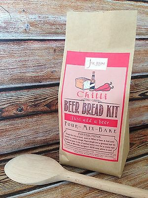 Beer Bread Mix - Chilli- Baking kit - Valentines Gift