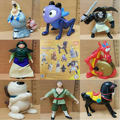 McDonalds Happy Meal Toy 1998 Walt Disney MULA Character - VARIOUS .