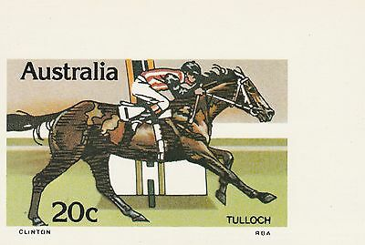 Australia 's First Special Series Maximum Card Numbered Tulloch Race Horse 20c