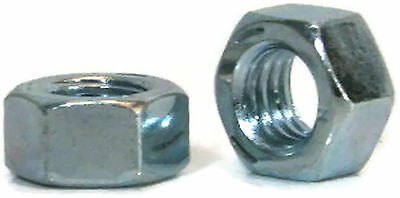 "Hex Finished Nuts Grade 5 Zinc - 1/2""-13 UNC - Qty-100"