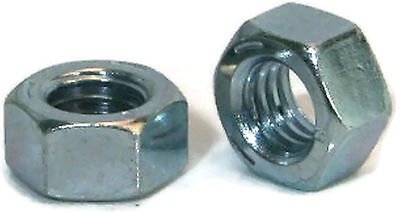 "Hex Finished Nuts Grade 2 Zinc Nut - 1/4""-20 UNC - Qty-1000"