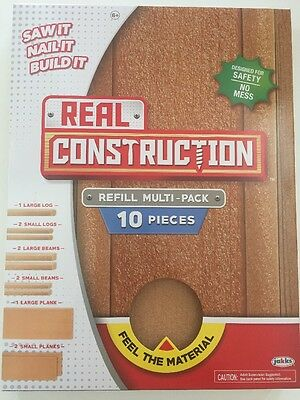 New REAL CONTRUCTION Refill Multi-pack 10 Pieces