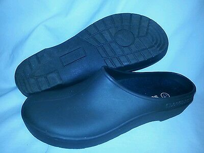 Sloggers Men's Brown Garden Clog with Premium Insole Size 10