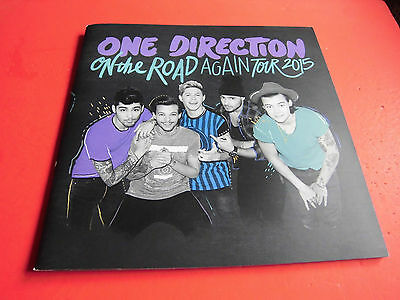VERY RARE! One Direction Program On The Road Again Tour 2015 Concert Brochure