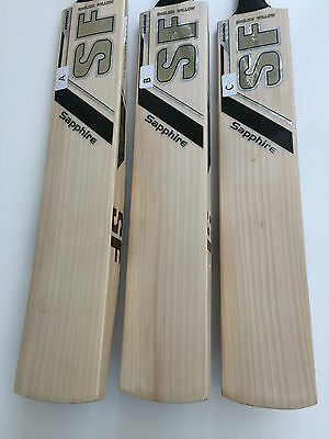 SF Sapphire Limited Edition Players Cricket Bat Full Profile 12 grains