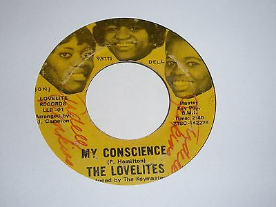 Lovelites - My Conscience - Northern Soul - MP3