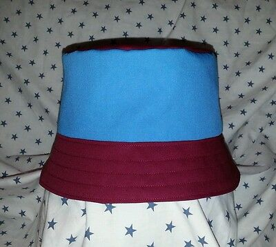 New West Ham United style bucket hat. 1990's football casuals. Size L. Vintage.