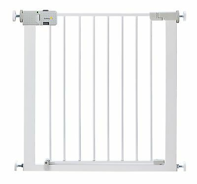 Safety 1st Secure Tech Simply Close Metal Gate (White) White SecureTech