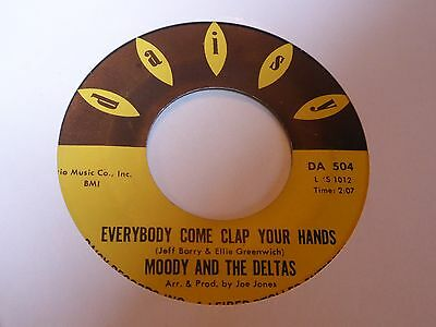 Moody & The Deltas - Everybody Come Clap Your Hands - Daisy - Northern Soul- MP3