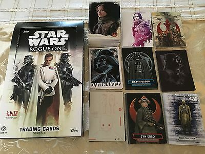 Star Wars Rogue One Series 1 Master Set 173 Cards,Includes Rare Sticker Set