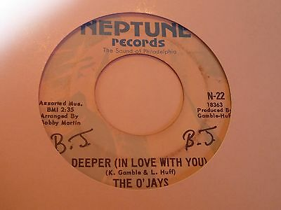 O'Jays - Deeper In Love - Neptune - Northern Soul - MP3
