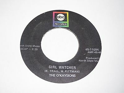O'Kaysions - Girl Watcher - ABC - Northern Soul - MP3