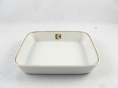Vintage Canadian Pacific Airlines Cp Air Porcelain Square Serving Dish 2/2