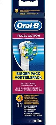 Oral B Floss Action Refill Heads (4)