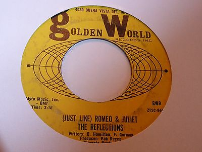 Reflections - Just Like Romeo & Juliet - Golden World -  Northern Soul - MP3