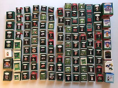 Lot 114 Hallmark Keepsake Miniature Ornaments 1989-2009 Singles Series Members