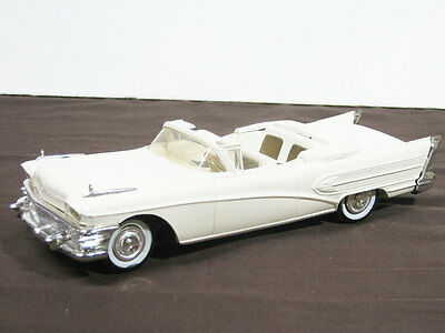 1958 Buick Roadmaster Conv. Promo (Friction), graded 9 out of 10.  #17614