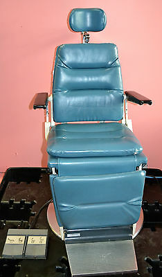 Reliance 980 HFC ENT Power Exam Chair wih Foot Switch - Works