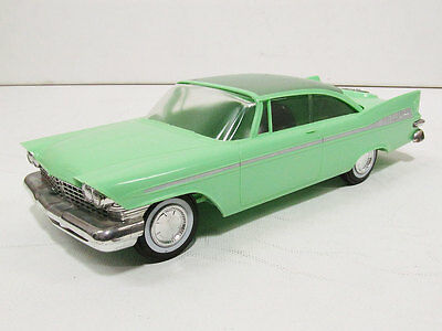 1959 Plymouth Fury HT Promo, graded 9 out of 10.  #22947