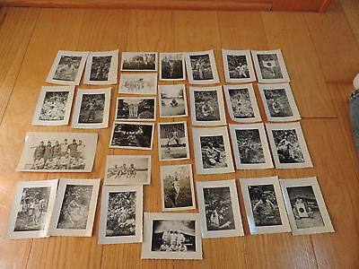 WWII Photos Military Army Waiting for Mail Japan Flag & More Vintage (c289)