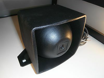 Federal Signal• Bp-100 •with Bracket•refinished Loud Speaker•13+ Ft Cable! Look!
