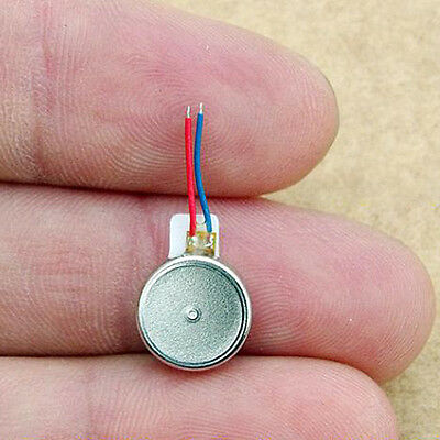 10PCS DC3V Flat Vibration Motor Mini Button Coin Vibration Motor 10*27mm