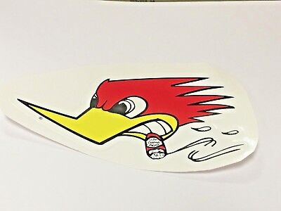 Road Runner Pissed Off Cigar Smoking Racing Sticker Supper Cool Colors! Rare