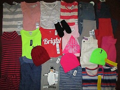 NWT'S Girls Size 8  Winter School Lot Clothes & Outfits Old Navy Children's Plac