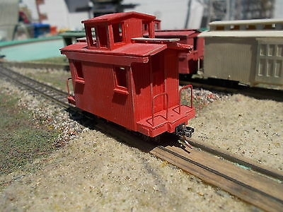 HOn30 16 foot Off center cupola caboose kit by Railway Recollections