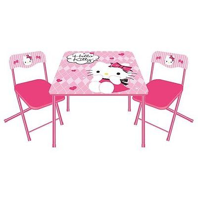 Table Chair Set Kids Toddler Desk Storage Dining Furniture – Girls Table and Chair