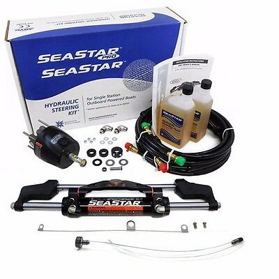 SeaStar System Teleflex HK6320A 20 FT Hose Package Boat Outboard Hydraulic Steer