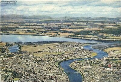 Inverness and the Black Isle from the Air