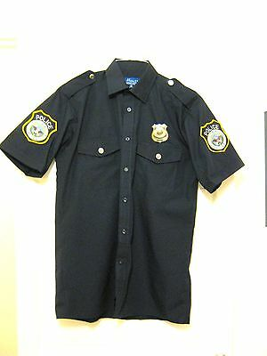 George Michael Replica OUTSIDE LIVE25 Version LAPD Police Shirt