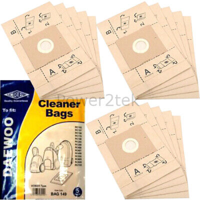 15 x VCB005 Dust Bags for Goblin Topo Range 73154 73155 Vacuum Cleaner