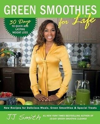 Green Smoothies for Life (New Paperback Book) by JJ Smith