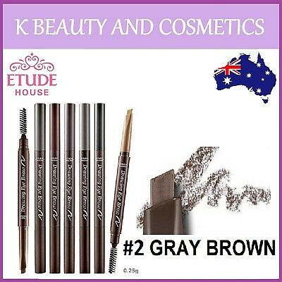 [Etude House] Drawing Eye Brow (#2 GRAY BROWN) eyebrow pencil *NEW 2018!*
