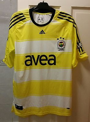 ADIDAS Fenerbahce 2008-2009 Shirt Jersey | Size XL | Official Licensed Product