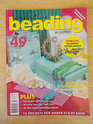Creative Beading Vol 8 #1~49 Projects~Jewellery~Hair Comb~Scarves~Candle Holder