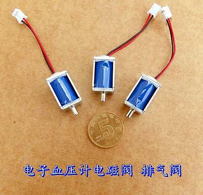 5pcs  3V Dc 75mA solenoid for electronic blood pressure solenoid pressure gauge