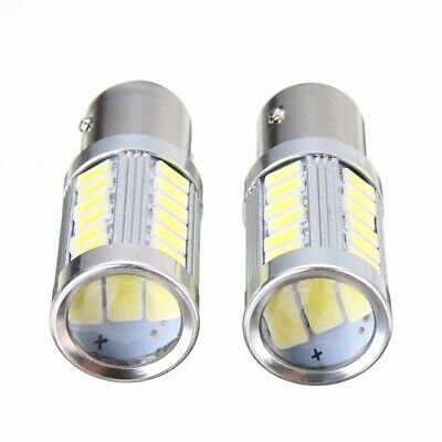 2pcs BA15D P21W 1157 33SMD LED Car Backup Reverse Head Light Bulb Hot