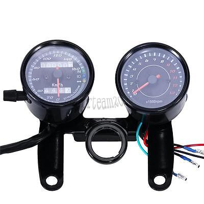 Motorcycle Speedometer Backlit Odometer Tachometer For Yamaha XS1100