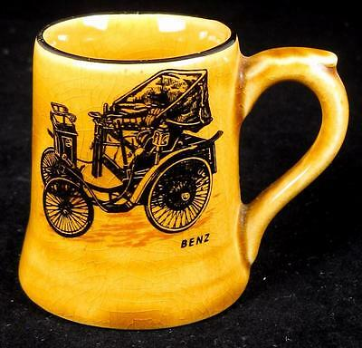 Wade Veteran Cars Series 'Benz' Honey Glaze Miniature Mug